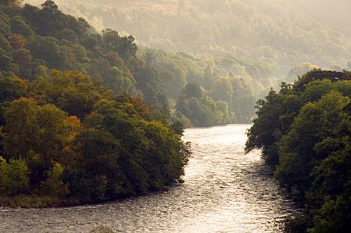 The Tay at Dunkeld in Autumn